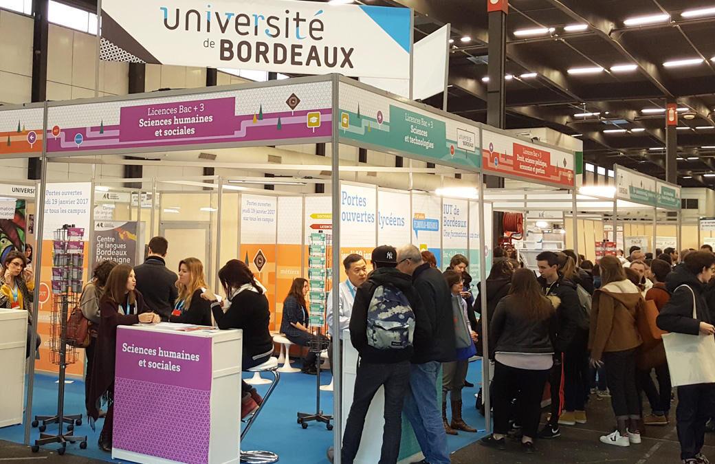 Visite au Salon de l'Etudiant à Lyon